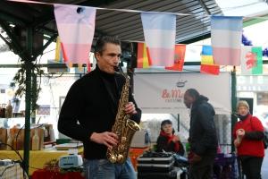 Le fameux saxophoniste du quartier