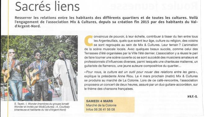 marche colonie à Argenteuil