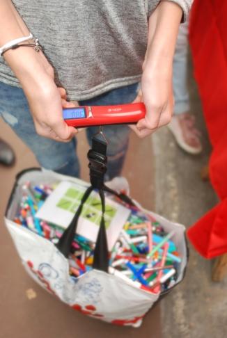 recyclage de stylos