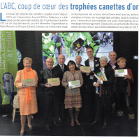 L'article dans le Sannois MAG, avec le Collectif à droite sur la photo