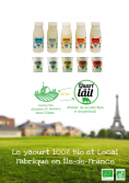Quart de lait Bio