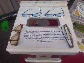 recyclage de lunettes