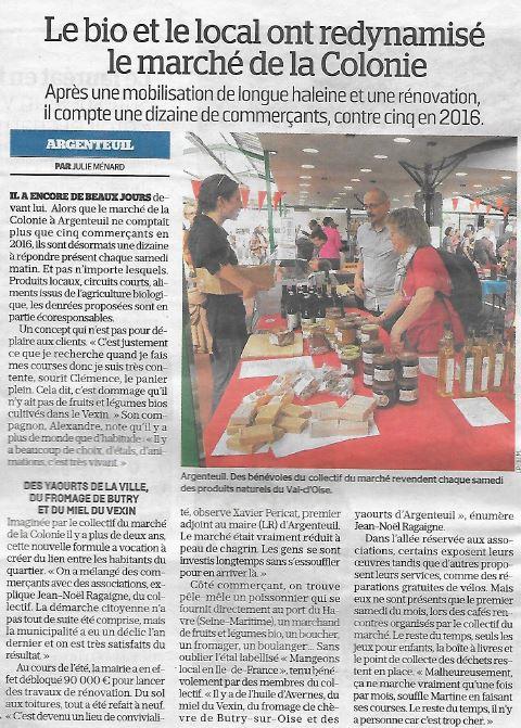 Parisien marché Bio